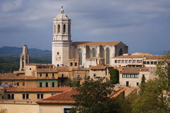 Cathedral of Girona Royalty Free Stock Image