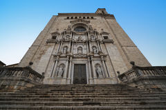 Cathedral of Girona Royalty Free Stock Photo