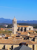 Cathedral in Girona Royalty Free Stock Image