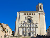 Cathedral of Girona, Spain Stock Image