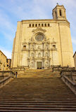 Cathedral of Girona, Spain Royalty Free Stock Image