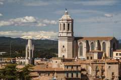 Cathedral of Girona Stock Image