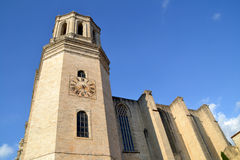 Cathedral of Girona, Spain Stock Images