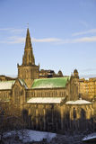 Cathedral Glasgow royalty free stock photos