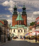 Cathedral in Gniezno Royalty Free Stock Photos