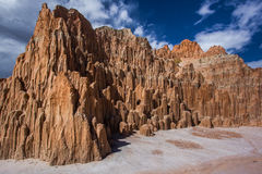 Cathedral Gorge Stock Photography