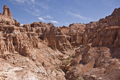 Cathedral Gorge State Park. This is a view of Cathedral Gorge State Park in Nevada royalty free stock images