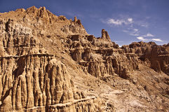 Cathedral Gorge State Park. This is a view of Cathedral Gorge State Park in Nevada stock photography
