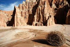 Cathedral Gorge State Park Royalty Free Stock Photography