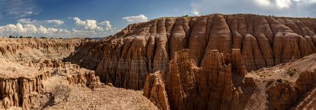 Cathedral Gorge State Park, Nevada, USA royalty free stock image