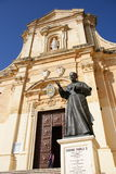 Cathedral of Gozo Royalty Free Stock Image