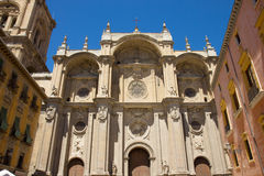 Cathedral of Granada, Andalusia, Spain Stock Images
