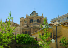 Cathedral of Granada, Andalusia, Spain Stock Photography