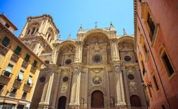 Cathedral of Granada, Andalusia, Spain Royalty Free Stock Image