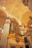 The Cathedral of Granada, Andalusia, Spain Stock Photos