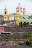 The cathedral of granada nicaragua Royalty Free Stock Photography