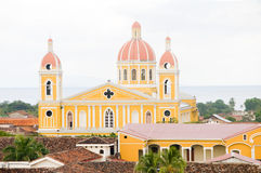 Cathedral of Granada Nicaragua Stock Image