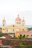 Cathedral of Granada Nicaragua Stock Photos