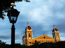 Cathedral of Granada, Nicaragua Royalty Free Stock Images