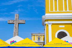 The Cathedral of Granada in Nicaragua Stock Image