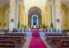 The Cathedral of Granada in Nicaragua Stock Photography