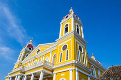 The Cathedral of Granada in Nicaragua Royalty Free Stock Image
