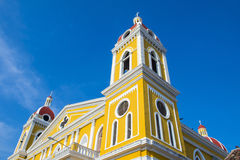 The Cathedral of Granada in Nicaragua Stock Images