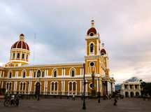Cathedral of Granada, Nicaragua Stock Photography