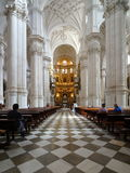 Cathedral of Granada Stock Images