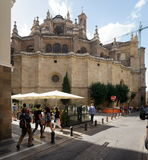 Cathedral of Granada Stock Image