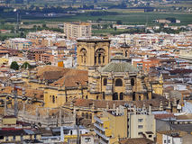 Cathedral in Granada, Spain Royalty Free Stock Photo