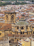 Cathedral in Granada, Spain Royalty Free Stock Photography