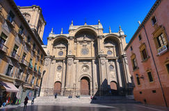 Cathedral of Granada Royalty Free Stock Images