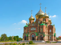 Cathedral of Grand Prince St.Vladimir. Cathedral of Grand Prince St. Vladimir, Equal-to-the-Apls. (The biggest orthodox temple on the Eastern Ukraine, location stock photo