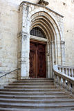 Cathedral of Grasse, France Royalty Free Stock Photography