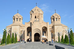 Cathedral of Gregory the Enlightener in Erevan, Armenia Stock Image