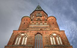 Cathedral of Greifswald (Germany) Royalty Free Stock Image