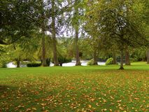 Cathedral grounds Dunkeld United Kingdom Royalty Free Stock Photo