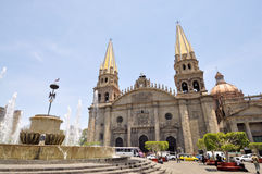 Cathedral of Guadalajara Stock Photos