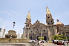 Cathedral of Guadalajara stock photos