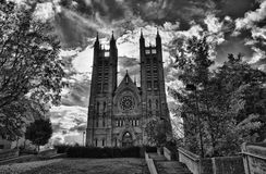 Cathedral in Guelph. Cathedral Church in downtown Guelph Stock Images