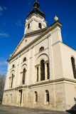 Cathedral, Gyor, Hungary. Roman catholic cathedral in Gyor, Hungary Stock Photography
