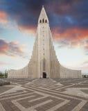 Cathedral Hallgrimskirkja, Reykjavik. Royalty Free Stock Photography