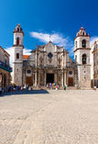 The Cathedral of Havana Royalty Free Stock Image