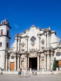 The Cathedral of Havana Royalty Free Stock Photography