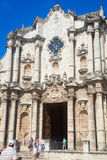 The Cathedral of Havana Royalty Free Stock Photos