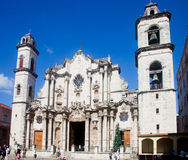 The Cathedral of Havana Royalty Free Stock Images