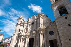 The Cathedral of Havana Stock Photo