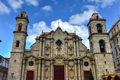 Cathedral of Havana Royalty Free Stock Photos