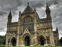 Cathedral HDR Royalty Free Stock Images